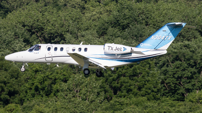 N304TX - Cessna 525 Citationjet CJ3 - Private
