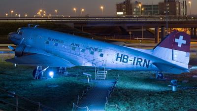 HB-IRN - Douglas DC-3 - Swissair