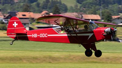 HB-ODC - Piper J-3C-65 Cub - Private