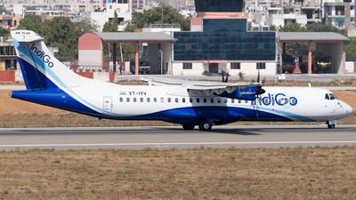 A picture of VTIYV - ATR 72600 - IndiGo - © Rohan Paliwal