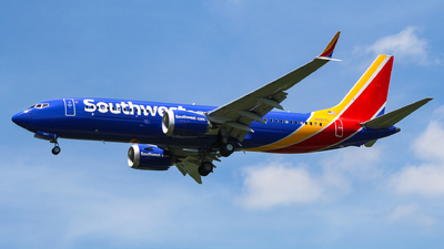 N8807L - Boeing 737-8 MAX - Southwest Airlines