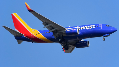 N7848A - Boeing 737-752 - Southwest Airlines