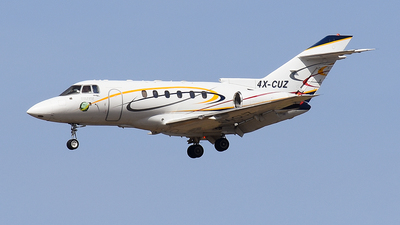 4X-CUZ - Hawker Beechcraft 800XP - Arrow Aviation