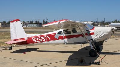N2657Y - Cessna 180E Skywagon - Private