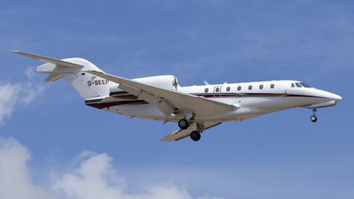 D-BEEP - Cessna 750 Citation X - Private