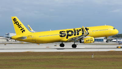 N659NK - Airbus A321-231 - Spirit Airlines