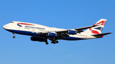 G-BYGG - Boeing 747-436 - British Airways
