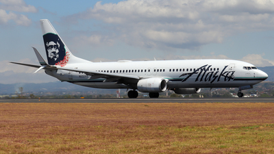 A picture of N532AS - Boeing 737890 - Alaska Airlines - © Kenneth Mora Flores KMF777