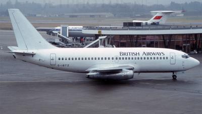 G-IBTZ - Boeing 737-2U4(Adv) - British Airways