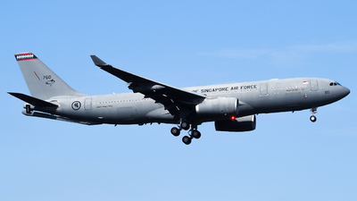 760 - Airbus A330-243(MRTT) - Singapore - Air Force