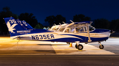 N635ER - Cessna 172S Skyhawk SP - Embry-Riddle Aeronautical University (ERAU)