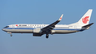 B-1528 - Boeing 737-89L - Air China