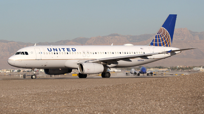 N433UA - Airbus A320-232 - United Airlines