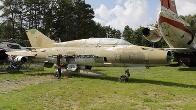 23-61 - Mikoyan-Gurevich MiG-21UM Mongol B - Germany - Air Force