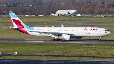 OO-SFL - Airbus A330-343 - Eurowings (Brussels Airlines)