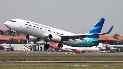 PK-GEN - Boeing 737-8AS - Garuda Indonesia