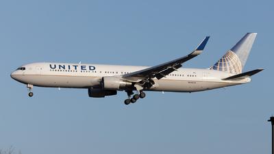A picture of N646UA - Boeing 767322(ER) - United Airlines - © Mustafa Sandikci