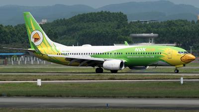 A picture of HSDBR - Boeing 73786N - Nok Air - © zhangmx969