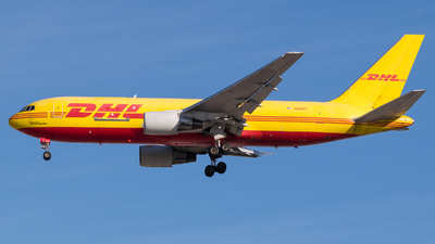 A picture of N658GT - Boeing 767281(BDSF) - DHL - © Positive Rate Photography