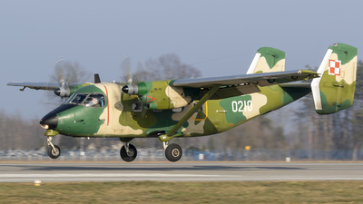 0210 - PZL-Mielec M-28TD Bryza - Poland - Air Force