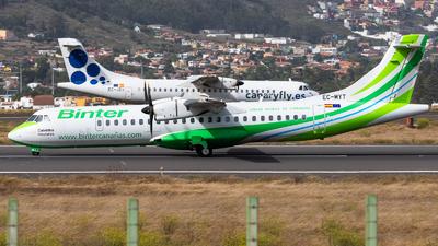 EC-MYT - ATR 72-212A(600) - Binter Canarias