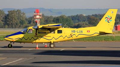 HB-LUA - Vulcanair P.68C - Swiss Flight Services