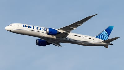 N29975 - Boeing 787-9 Dreamliner - United Airlines