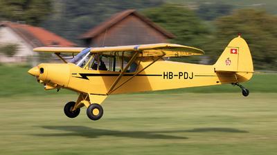 HB-PDJ - Piper PA-18-150 Super Cub - Private