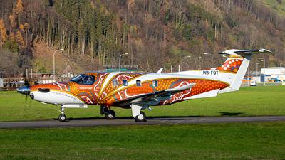 HB-FQT - Pilatus PC-12 NGX - Private