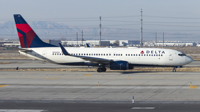 A picture of N386DA - Boeing 737832 - Delta Air Lines - © David Lee