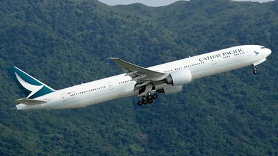 B-KPW - Boeing 777-367ER - Cathay Pacific Airways
