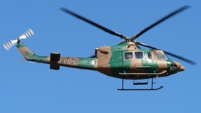 BV-26 - Bell 412EP - Algeria - Navy