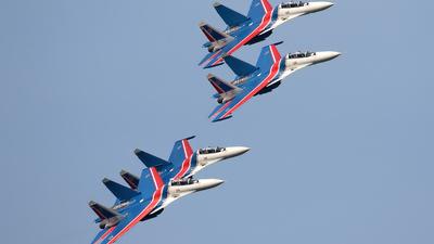 RF-81704 - Sukhoi Su-30SM - Russia - Air Force