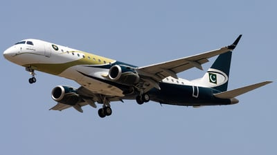 B-3203 - Embraer 190 Lineage 1000 - Pakistan - Navy