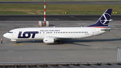 SP-LLE - Boeing 737-45D - LOT Polish Airlines