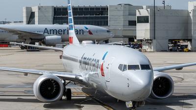N314RH - Boeing 737-8 MAX - American Airlines