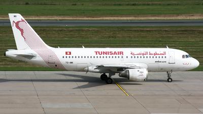 TS-IMK - Airbus A319-114 - Tunisair