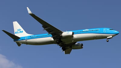 A picture of PHBXT - Boeing 7379K2 - KLM - © ms spot