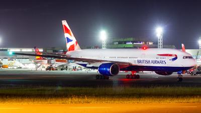 G-YMMJ - Boeing 777-236(ER) - British Airways