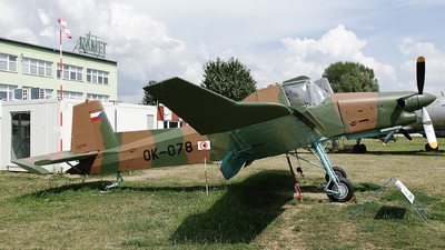 OK-078 - Zlin Z-37T - Private