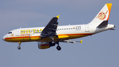 A picture of A5DOR - Airbus A319115 - Bhutan Airlines - © Mohammadreza Farhadi Aref