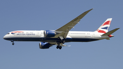 A picture of GZBKM - Boeing 7879 Dreamliner - British Airways - © Paul Spijkers