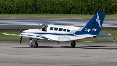 A picture of N740CA - Cessna 402C - Cape Air - © Angel Natal