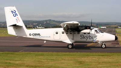 G-CBML - De Havilland Canada DHC-6-300 Twin Otter - Isles Of Scilly Skybus