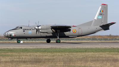 1104 - Antonov An-30 - Romania - Air Force