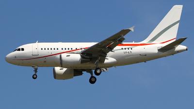 LX-LTI - Airbus A318-112(CJ) Elite - Global Jet Luxembourg