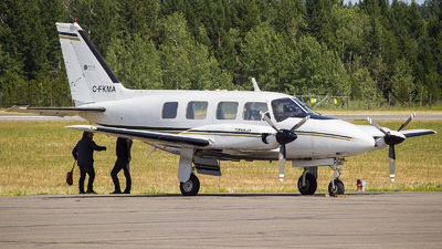 C-FKMA - Piper PA-31-310 Navajo - Aries Aviation Services