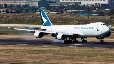 B-LJE - Boeing 747-867F - Cathay Pacific Cargo
