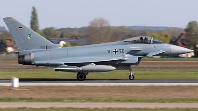 30-70 - Eurofighter Typhoon EF2000 - Germany - Air Force