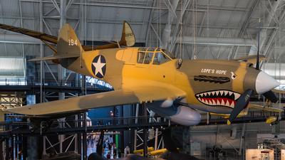 194 - Curtiss P-40 Kittyhawk - United States - US Army Air Force (USAAF)